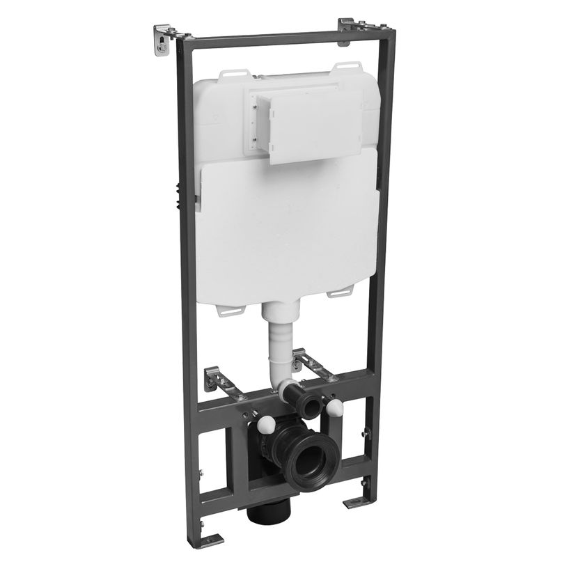 1 17 Wall hung WC frame 6or3 L flush